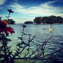 Paddleboarding in Nicaragua